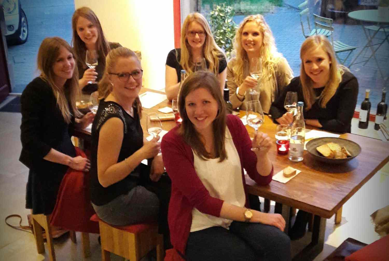 Weinprobe Mädelsabend