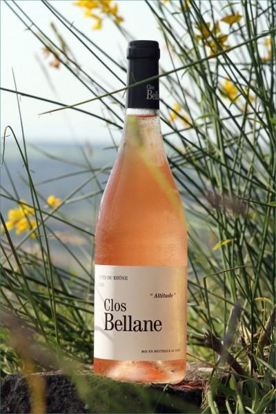 """Clos Bellane - """"Altitude"""" Rosé Côtes du Rhône Village Valreas AOP"""